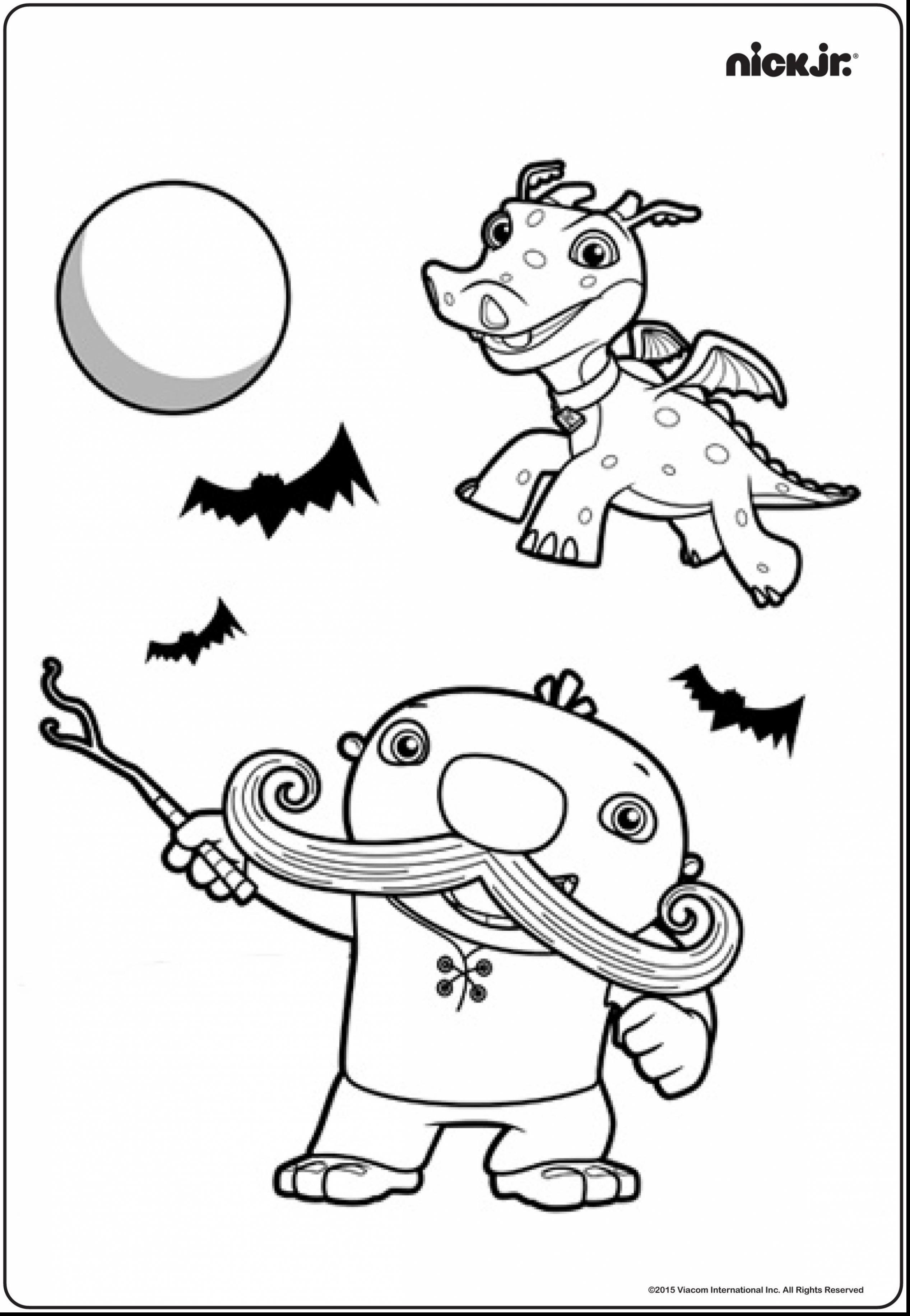 2534x3665 Nick Jr Halloween Coloring Pages Unbelievable Nick Jr Halloween