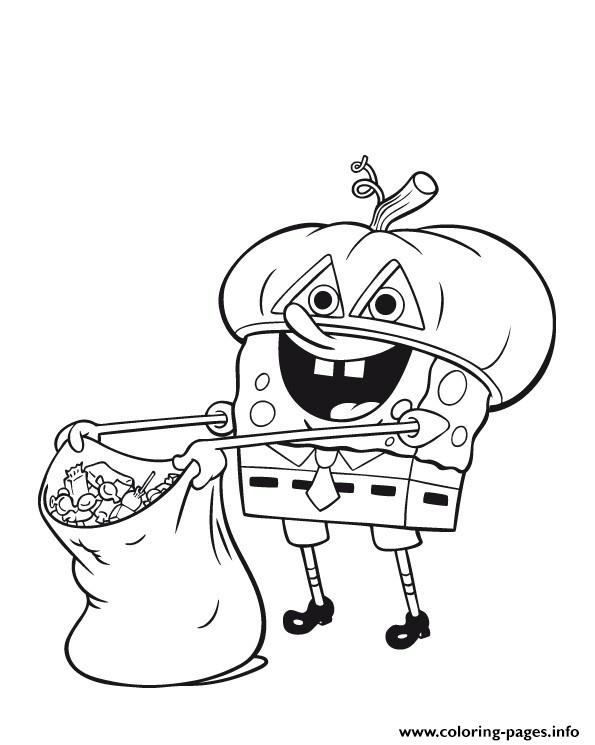 595x745 Nickelodeon Halloween S For Coloring Pages Printable