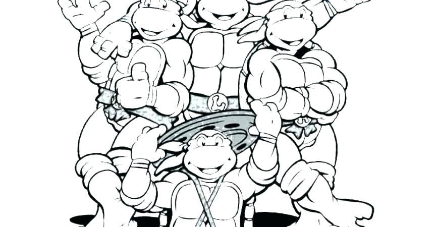 860x450 Nickelodeon Teenage Mutant Ninja Turtles Coloring Pages Photos