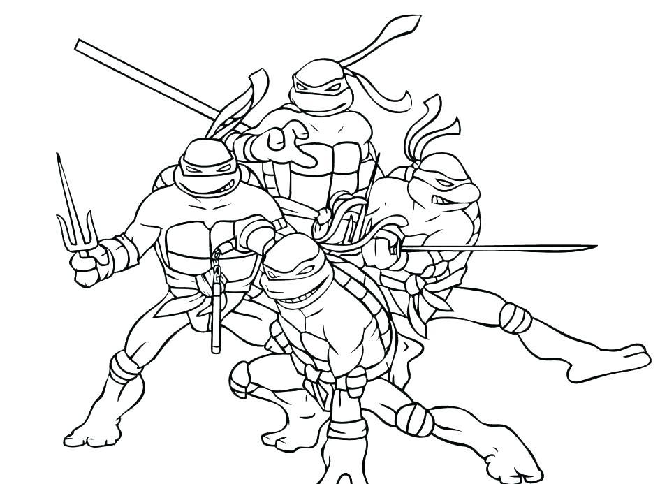 945x693 Teenage Mutant Ninja Turtle Coloring Pages Coloring Pages Ninja