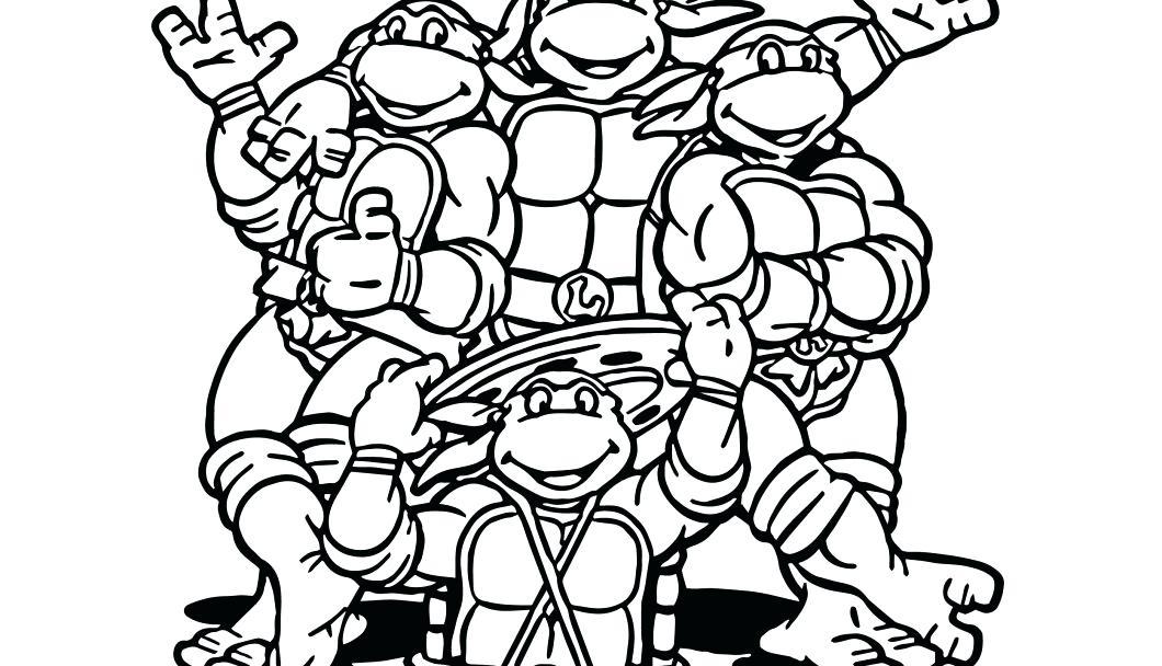 1060x608 Teenage Mutant Ninja Turtle Coloring Pages Teenage Mutant Ninja