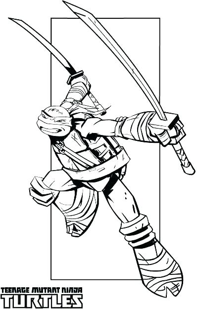 398x625 Teenage Mutant Ninja Turtles Coloring Pages Nickelodeon Teenage