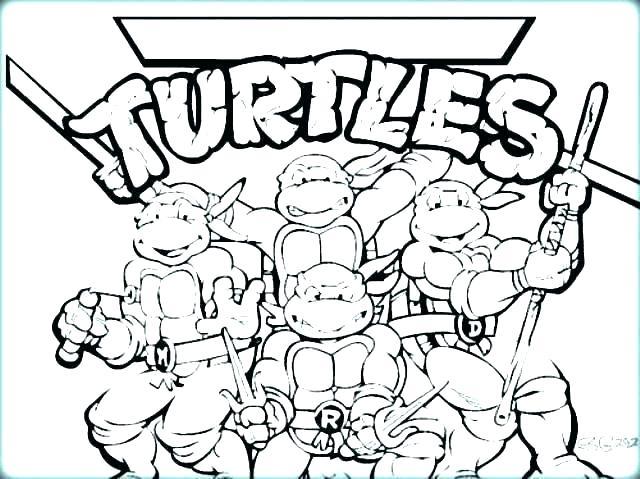 640x479 Teenage Mutant Ninja Turtles Coloring Pages Ninja Turtles Ng Pages