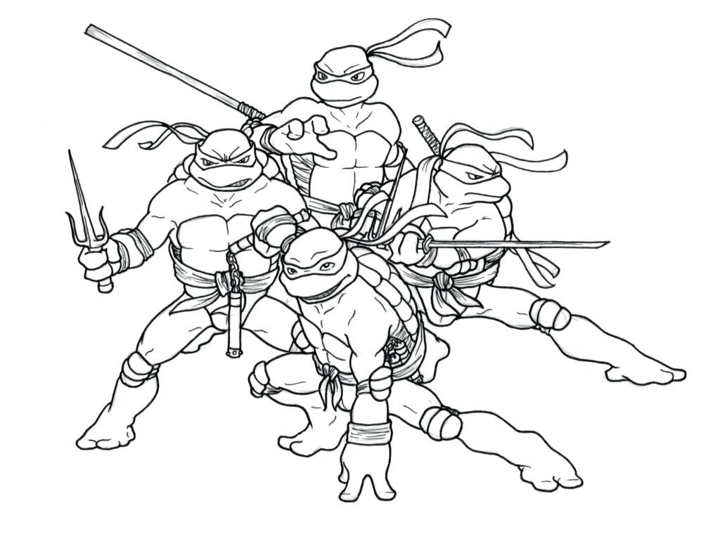 1024x760 Pictures Of Ninja Turtles To Color Teenage Mutant Ninja Turtles