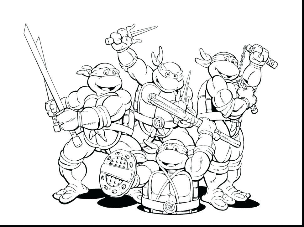 970x725 Free Ninja Turtle Coloring Pages Plus Teenage Mutant Ninja Turtles