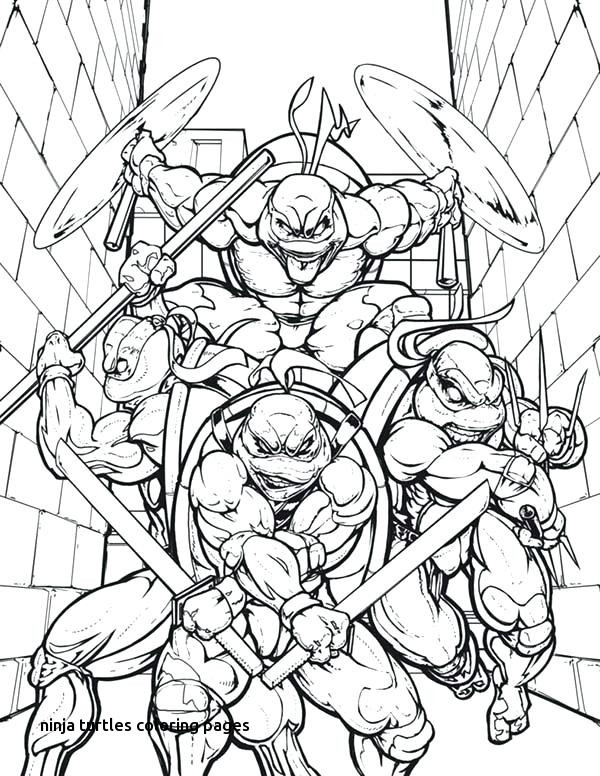 600x776 Nickelodeon Teenage Mutant Ninja Turtles Coloring Pages