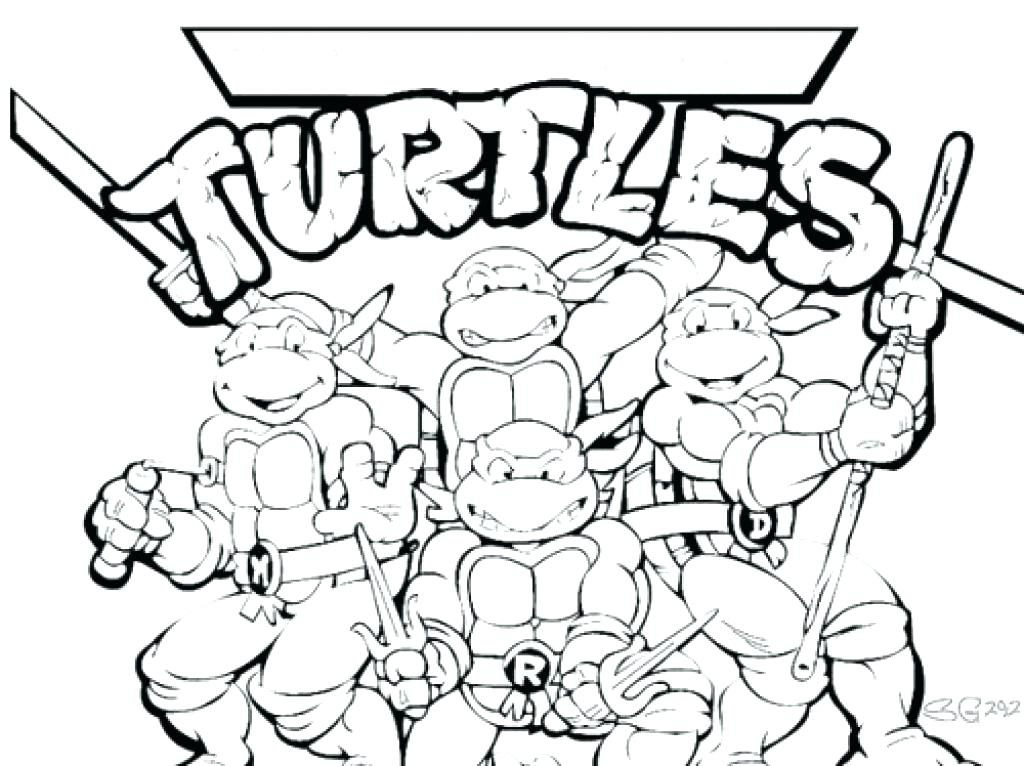 1024x766 Teenage Mutant Ninja Turtle Coloring Pages Teenage Mutant Ninja