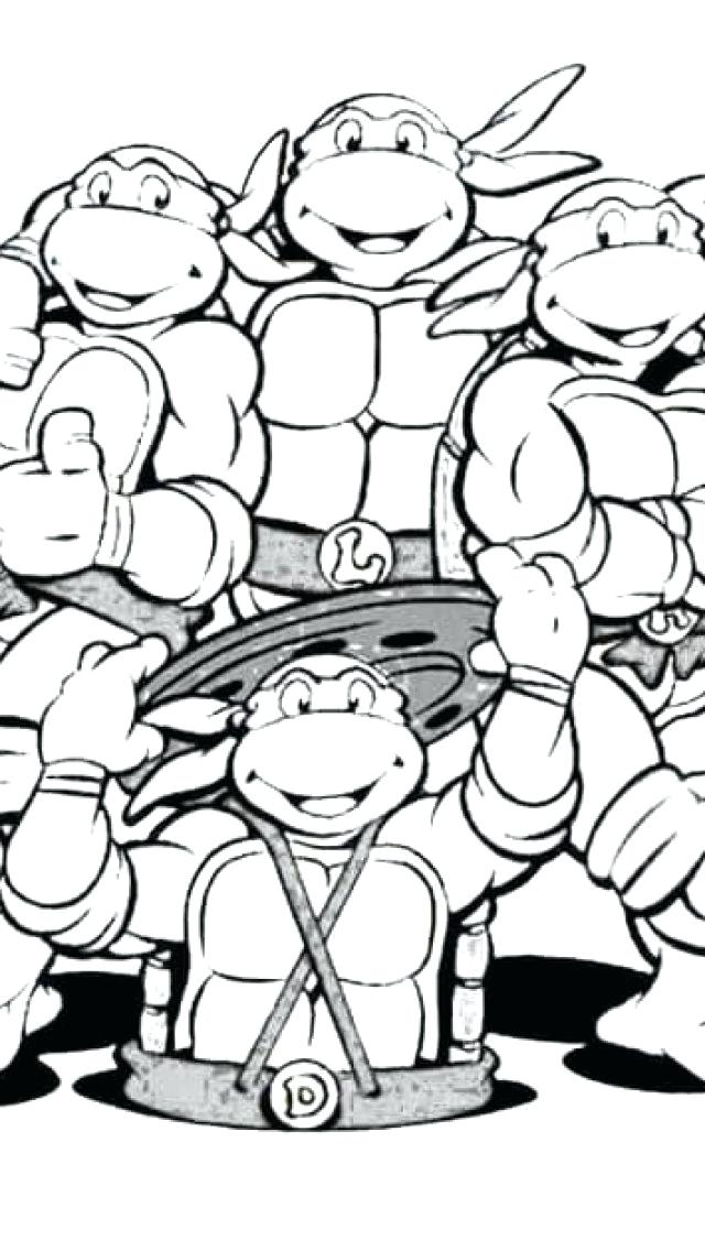 640x1136 Coloring Sheet Coloring Sheet Tmnt Coloring Pages Nickelodeon