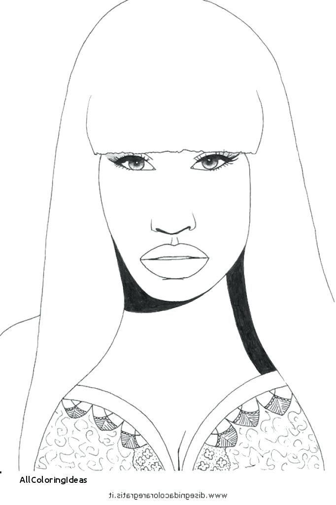 682x1024 Nicki Minaj Coloring Pages Free Printable Nicki Minaj Coloring