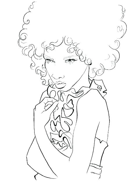 465x640 Nicki Minaj Coloring Pages Coloring Pages Coloring Pages Boondocks