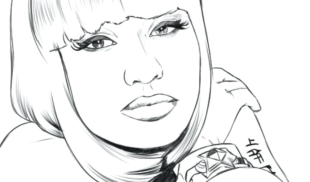 1024x600 Nicki Minaj Coloring Pages Coloring Pages With Kids Coloring