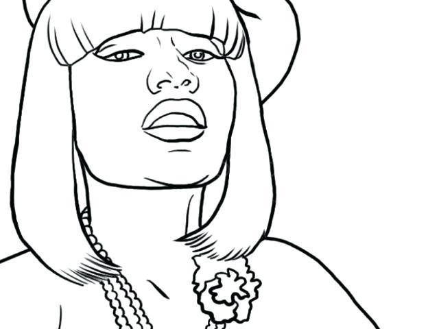 640x480 Nicki Minaj Coloring Pages Nicki Minaj Coloring Pages Coloring
