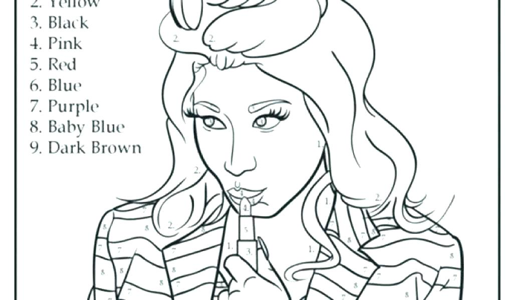 1024x600 Nicki Minaj Coloring Pages Swift Coloring Page For Kids Color