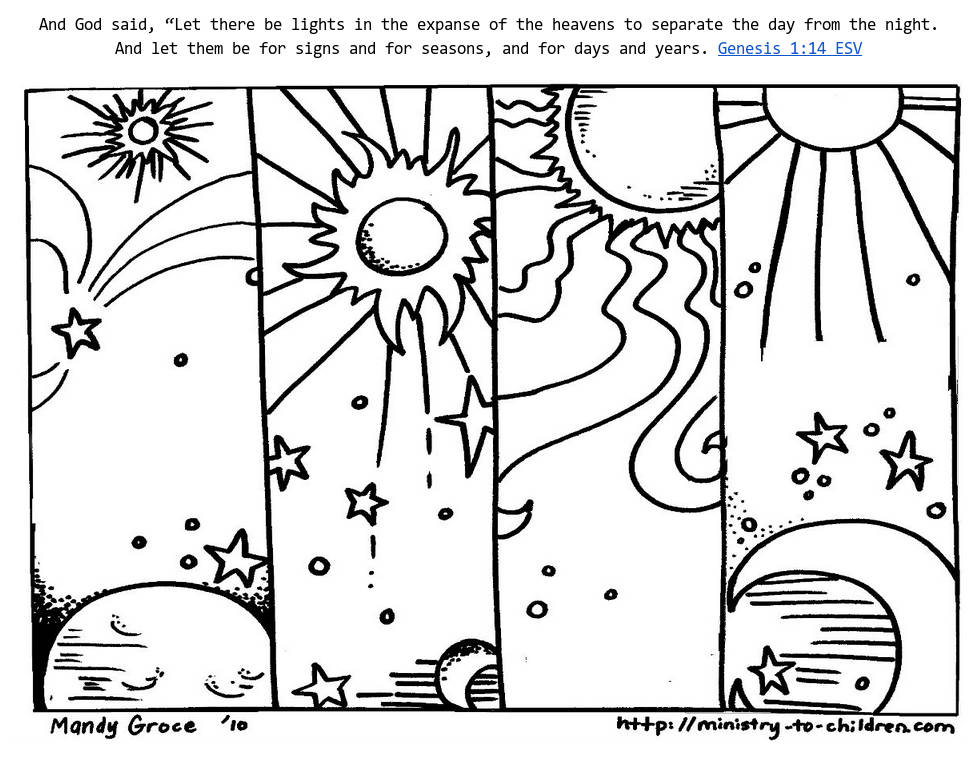 974x763 Printable Day And Night Coloring Pages For Preschoolers