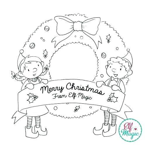 500x500 Elf Coloring Page Elf Elf Colouring Pages To Print