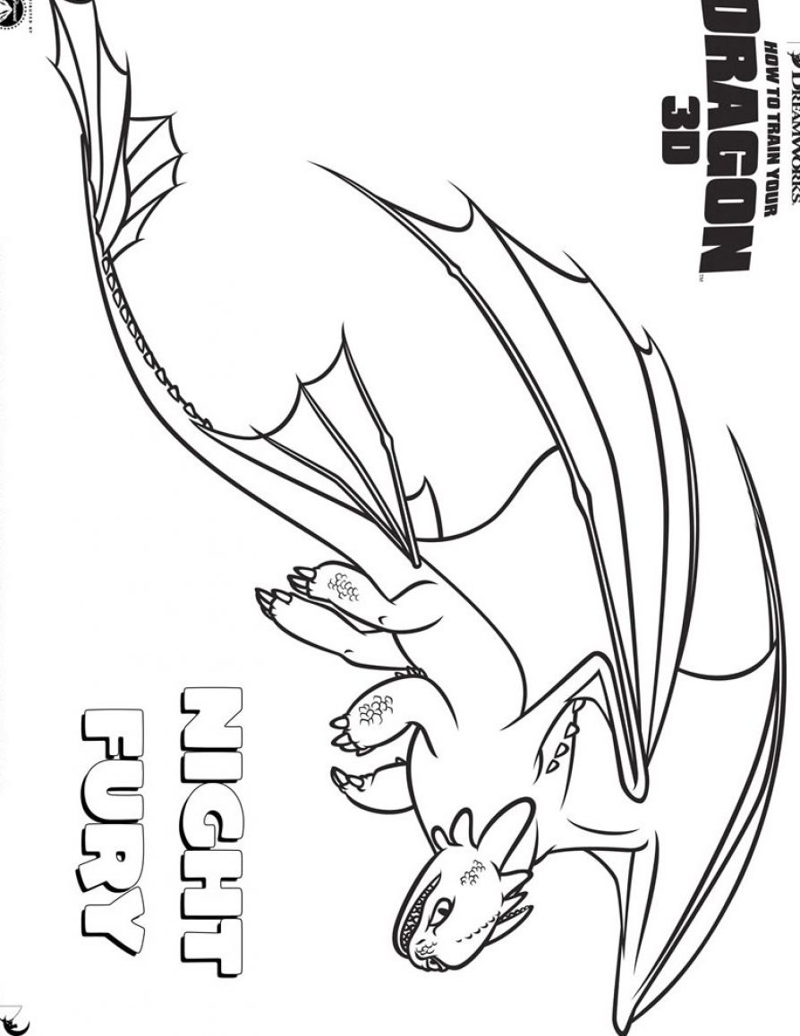 Night Fury Coloring Pages At Getdrawings Com Free For Personal Use