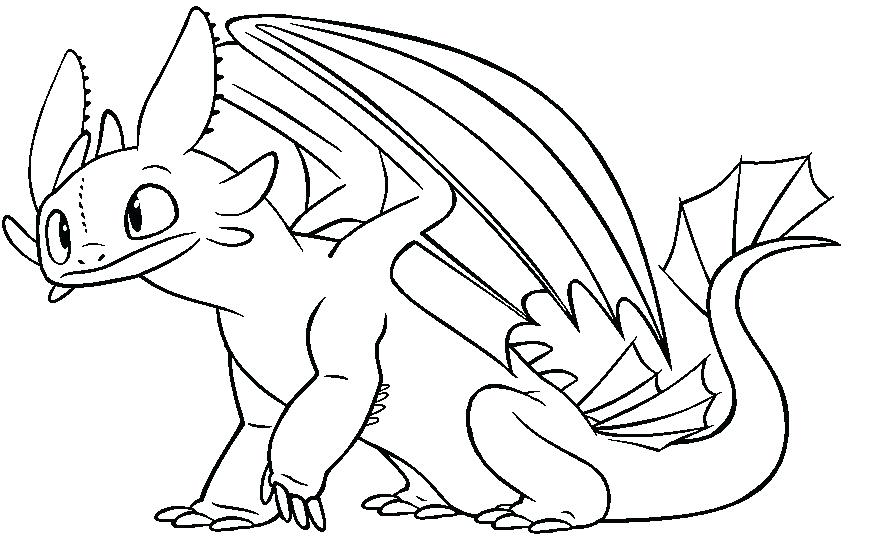 Night Fury Coloring Pages at GetDrawings.com | Free for personal use ...