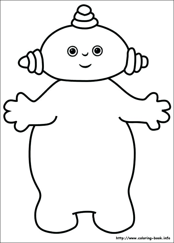 567x794 In The Night Garden Coloring Pages In The Night Garden Coloring