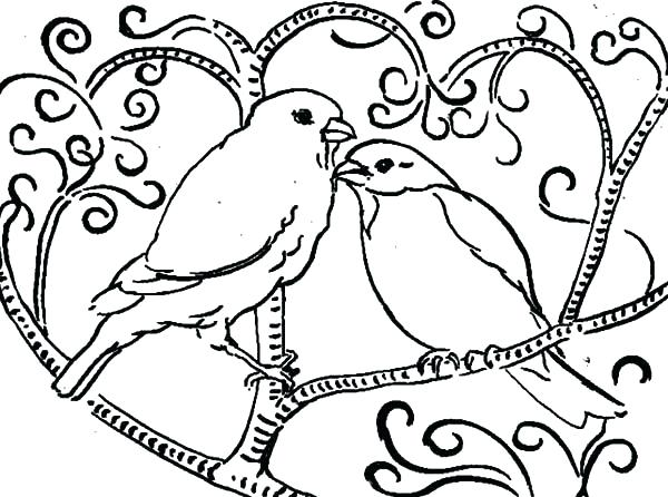 600x446 Free Tweety Bird Coloring Pictures Bird Coloring Page Cool Bird