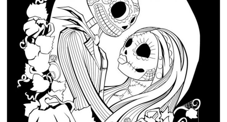 photo about Nightmare Before Christmas Printable identified as Nightmare Just before Xmas Coloring Internet pages at