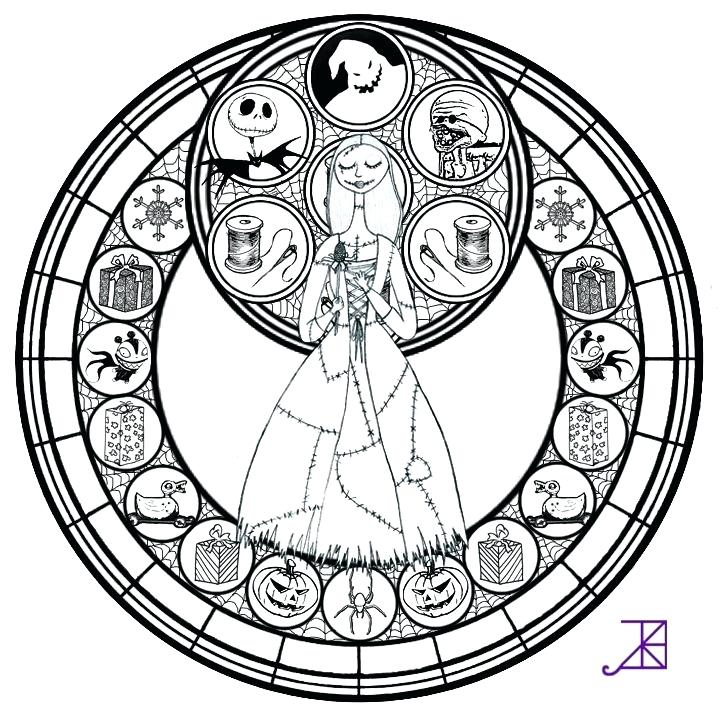 Nightmare Before Christmas Coloring Pages at GetDrawings.com | Free ...