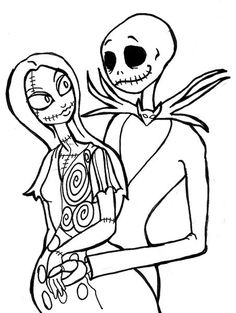 236x313 Nightmare Before Christmas Coloring Pages Kids Halloween