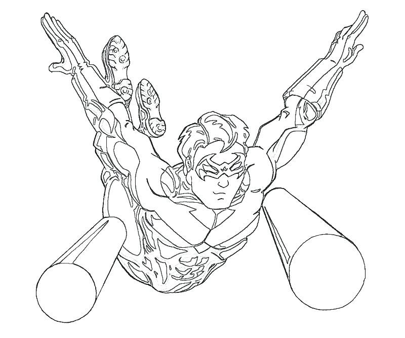800x667 Nightwing Coloring Pages Coloring Pages Batman Robin Nightwing