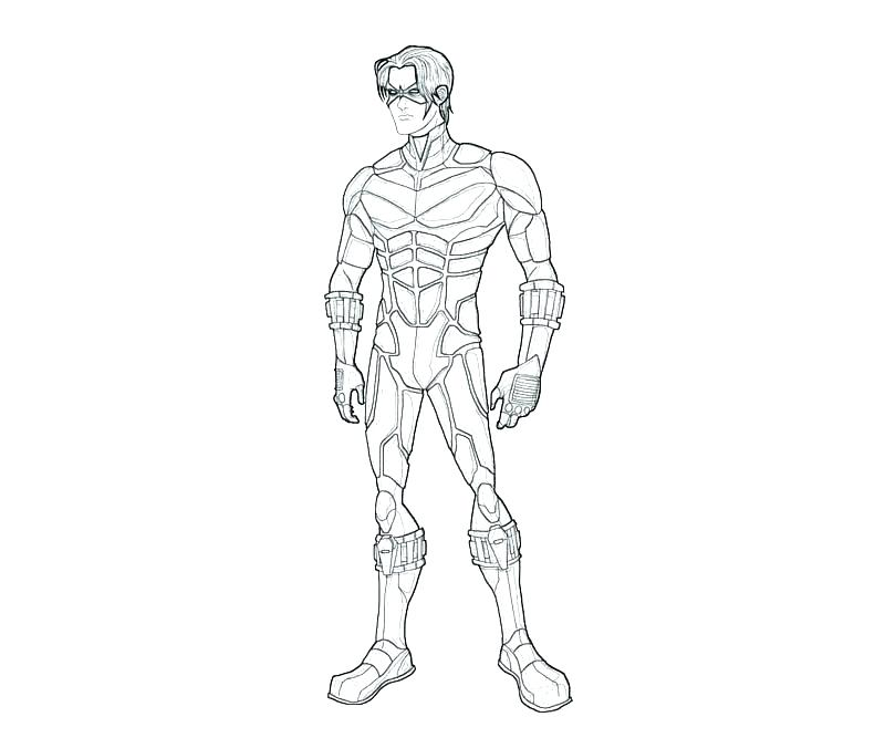 800x667 Nightwing Coloring Pages Coloring Pages This Is Coloring Pages