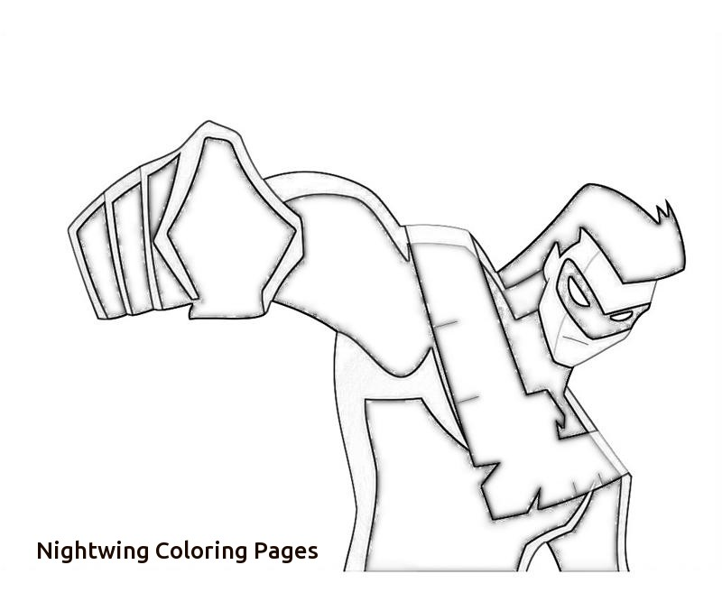 800x667 Free Coloring Pages Of Batman Robin Nightwing With Nightwing
