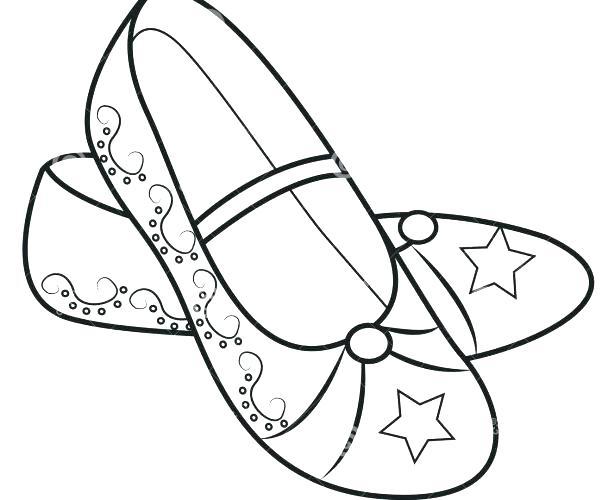 602x500 Jordan Shoes Coloring Pages Shoe Coloring Pages Medium Size