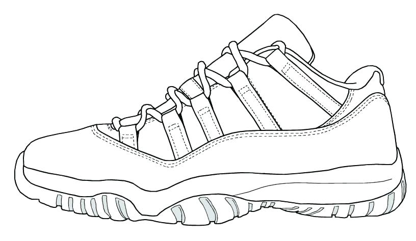 816x473 Shoes Coloring Pages Air Basketball Shoe Colouring Pages