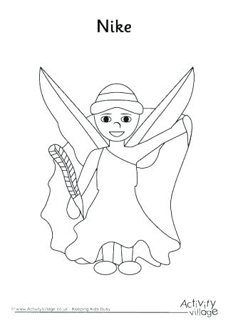 320x452 Nike Logo Coloring Pages Coloring Pages Colouring Page Summer S