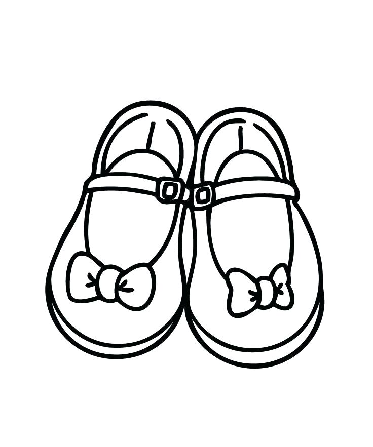 736x883 Coloring Pages Shoes Printable Coloring Page Shoes Air Shoes