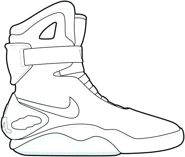 588x500 Jordan Shoes Coloring Pages Plus Coloring Pages Shoes Shoe