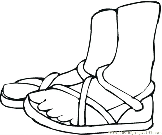 650x541 Shoes Coloring Page Summer Shoes Coloring Page Coloring Page Nike