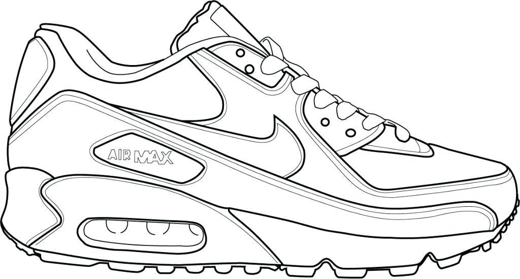 1024x549 Nike Shoes Coloring Pages Icontent