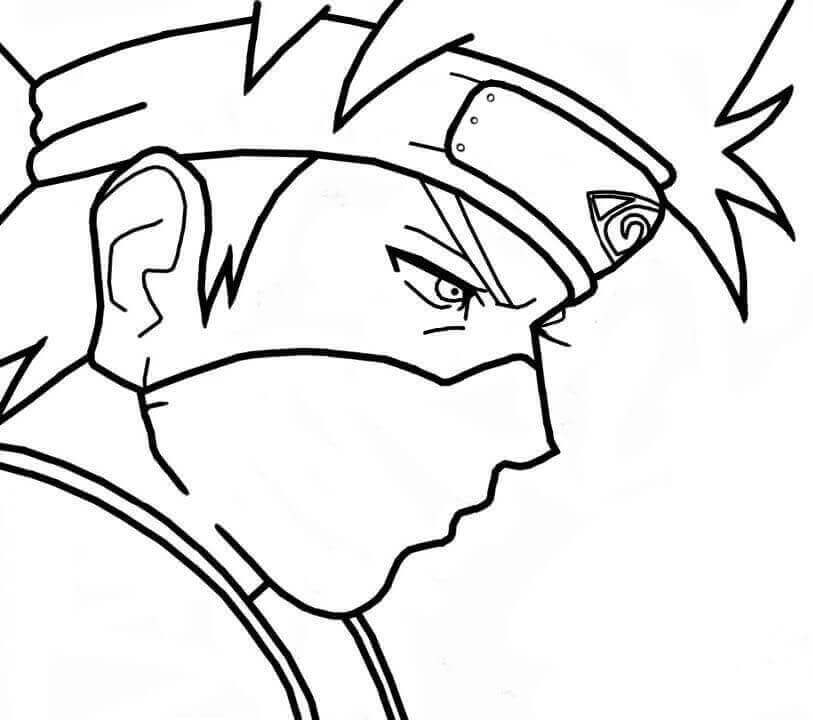 813x720 Free Printable Naruto Coloring Pages