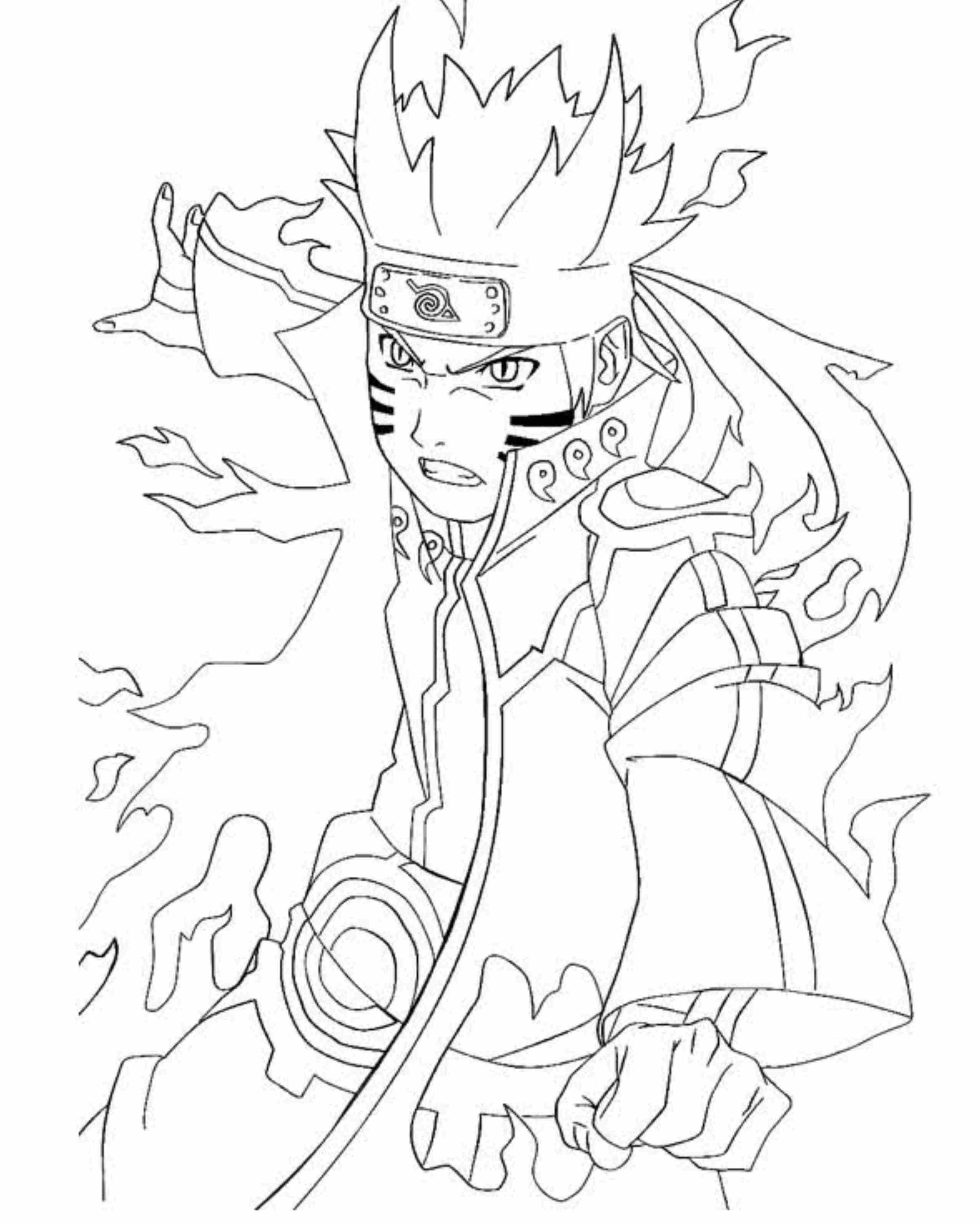 2551x3187 Unusual Naruto Nine Tailed Fox Coloring Pages Of Shippuden