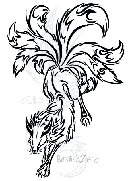 457x635 Tails The Fox Coloring Pages