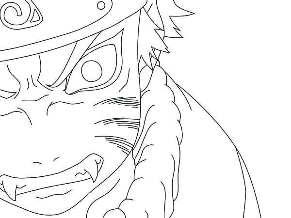 600x450 Naruto Coloring Page Naruto Coloring Pages Nine Tailed Fox