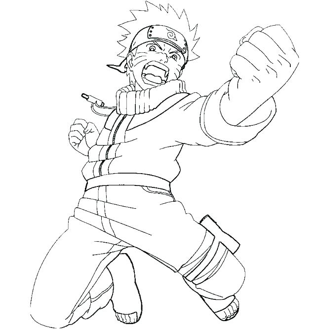 644x667 Naruto Coloring Page Nine Tails Coloring Pages Coloring Pages