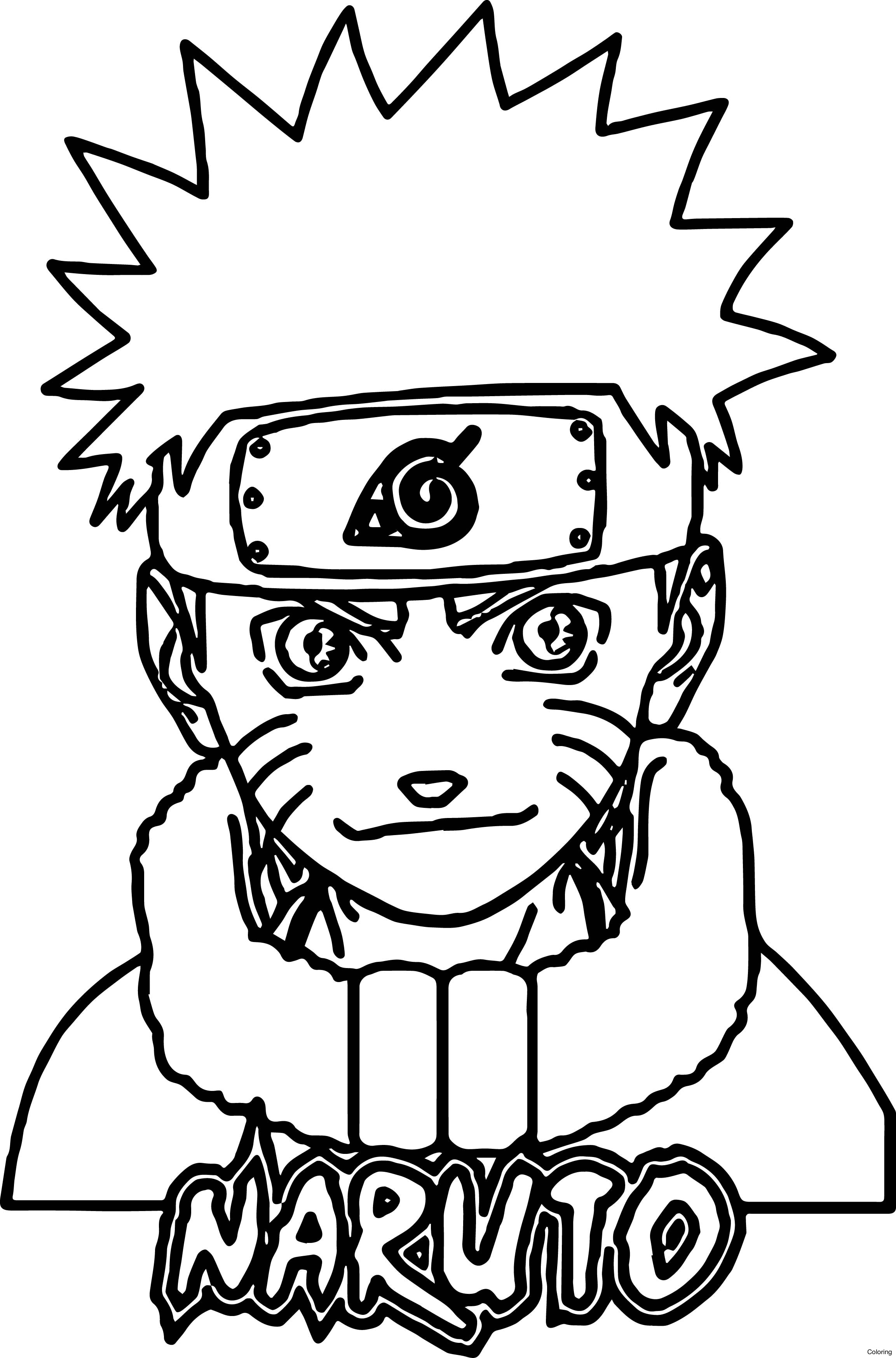 2306x3493 Naruto Coloring Pages For Anime Nine
