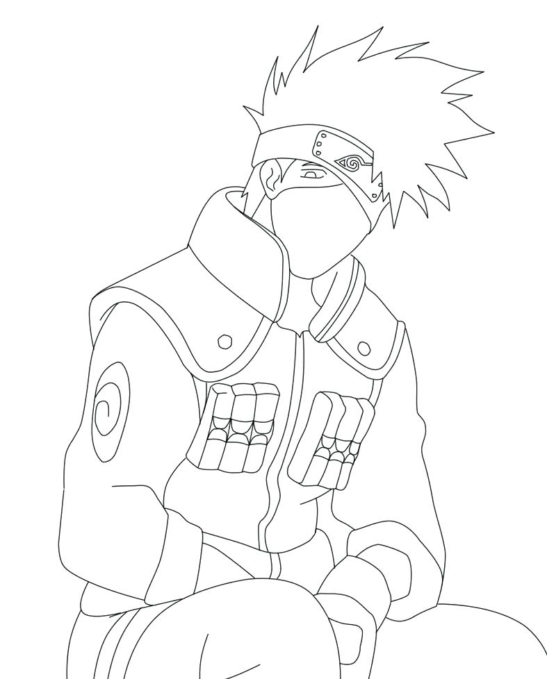 787x978 Naruto Coloring Pages Nine Tailed Fox Page Image Of Anime Online