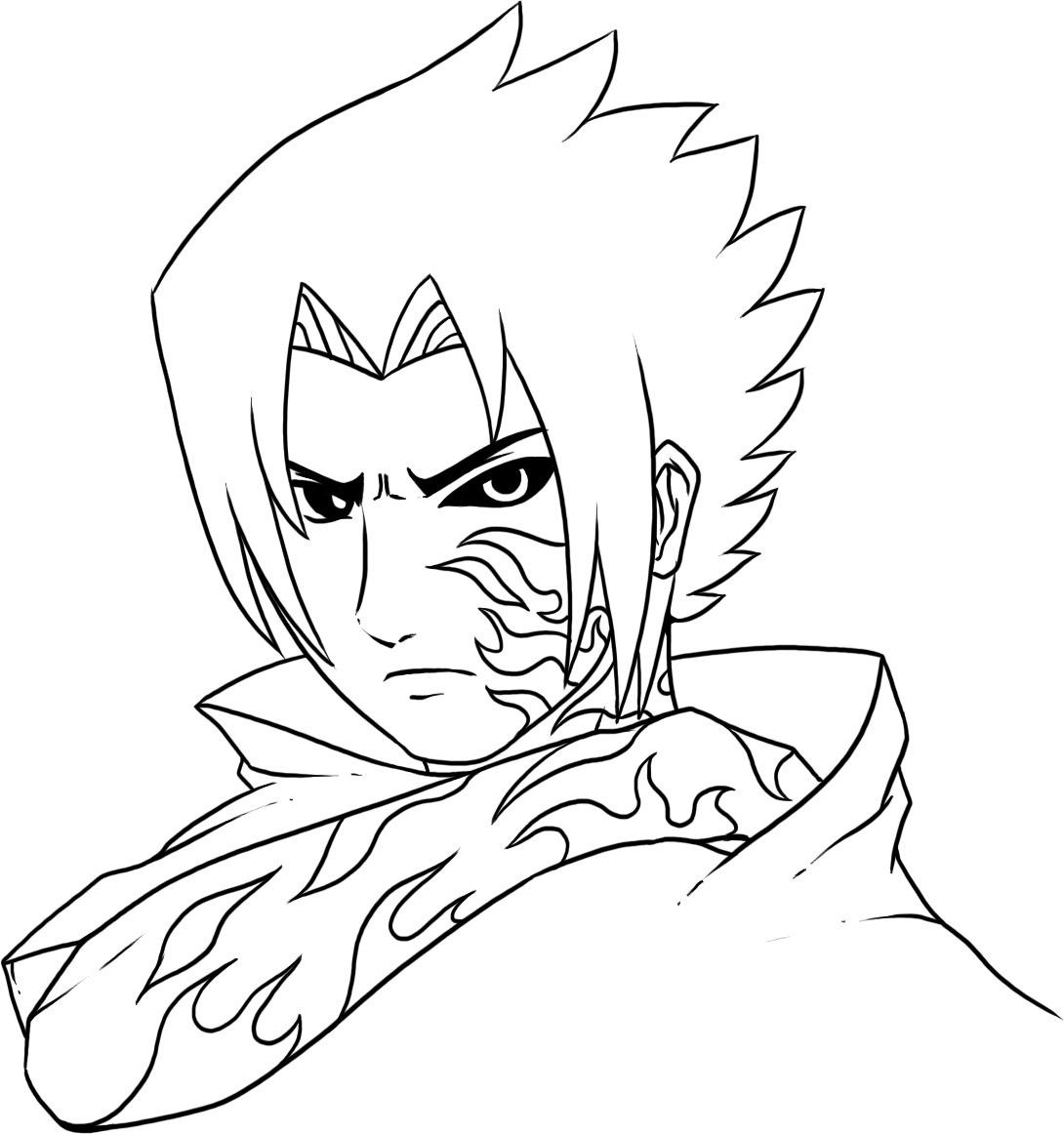 1090x1162 Tested Naruto Nine Tailed Fox Coloring Pages Free Printable