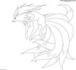 261x239 Narutos Nine Tail Fox Colouring Pages, Nine Tailed Fox Coloring