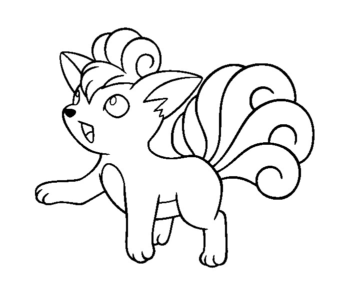 684x589 Pokemon Coloring Pages Printable