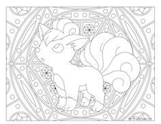 236x182 Adult Pokemon Coloring Page Ninetales Coloring Pages