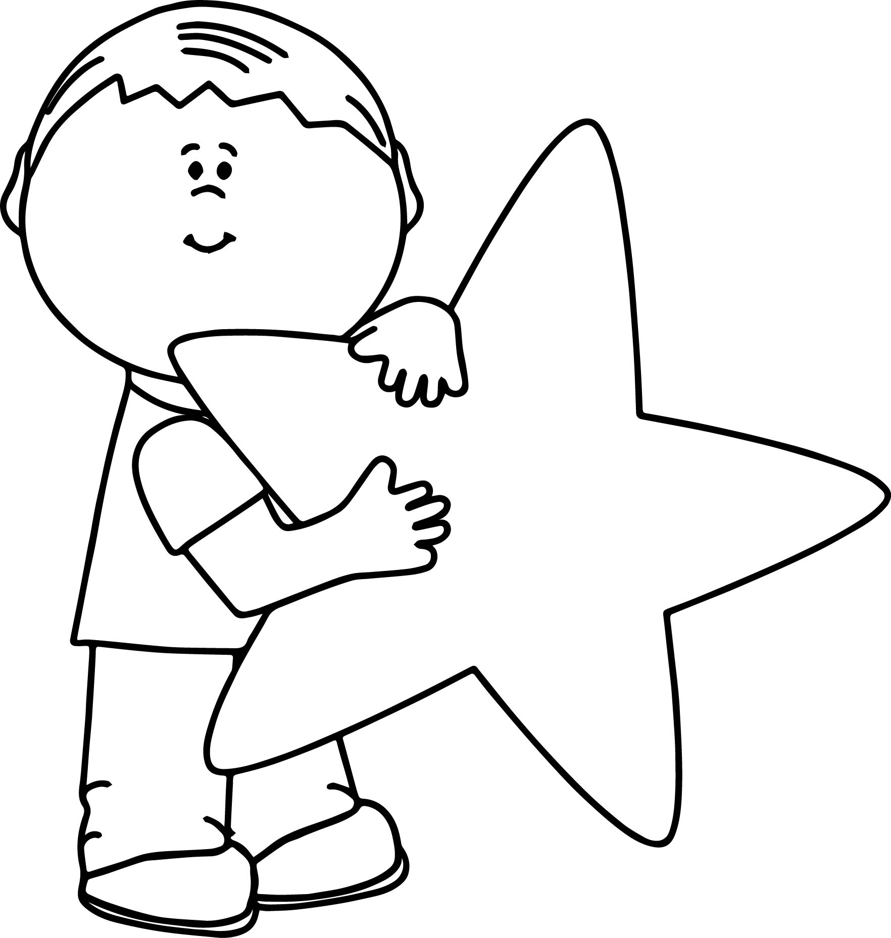 Ninja Star Coloring Pages