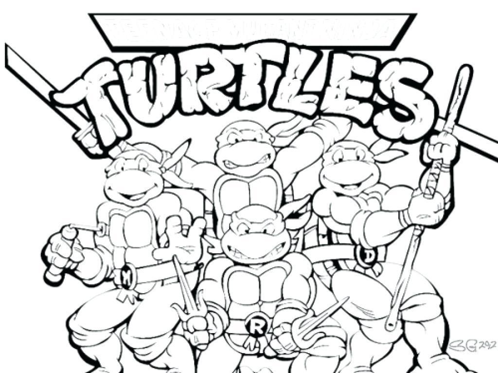 1024x766 Ninja Color Printable Teenage Mutant Ninja Turtles Coloring Pages