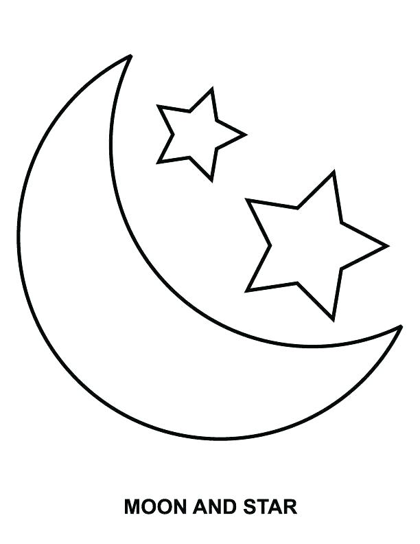 612x792 Stars Coloring Pages Moon Star Wars Coloring Pages Pdf